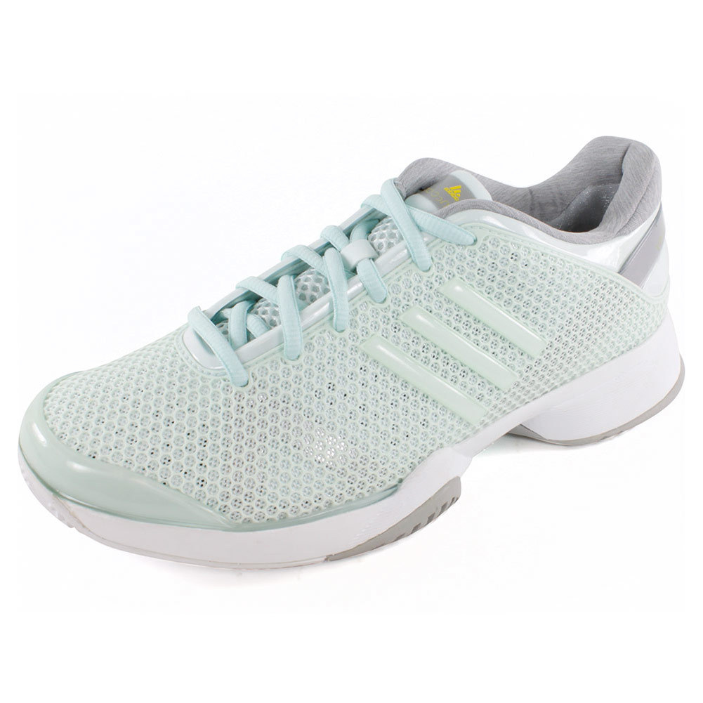 Women`s Stella McCartney Barricade Tennis Shoes Fresh Aqua and White