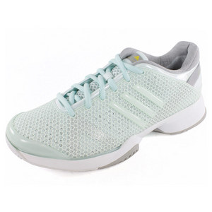 adidas WOMENS STELLA BARRICADE SHOES AQUA/WH