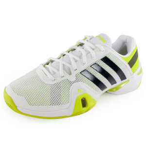 adidas MENS ADIPOWER BARRICADE 8 SHOES WH/SLM