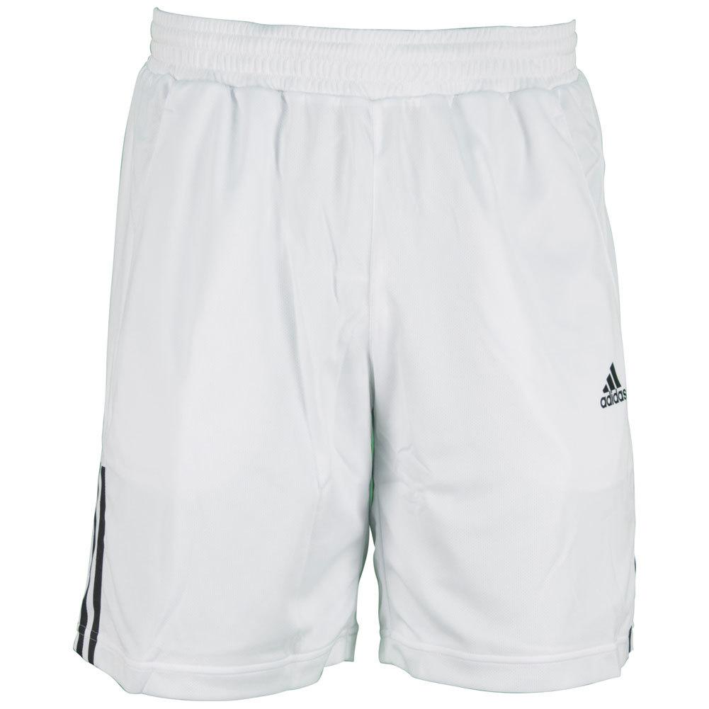 Men`s Galaxy 9.5 Inch Tennis Short White
