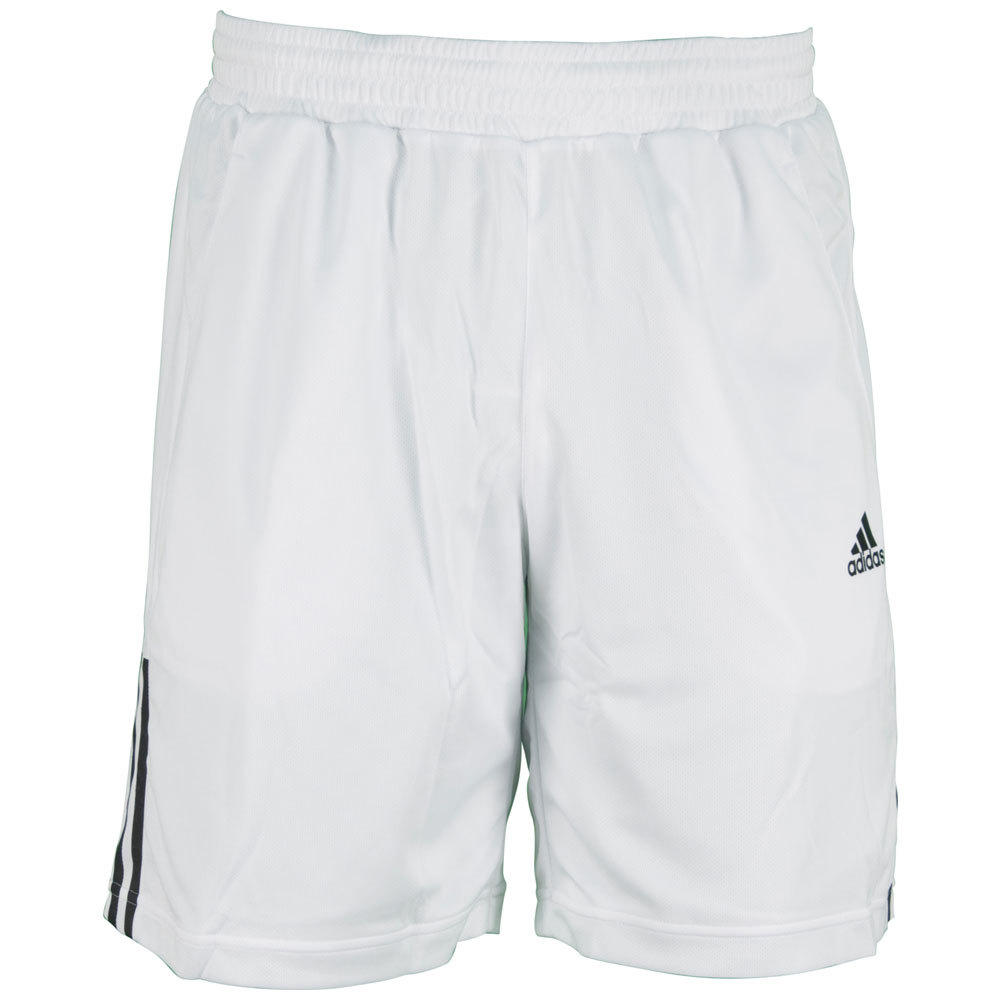 Men`s Galaxy 9.5 Inch Tennis Short White