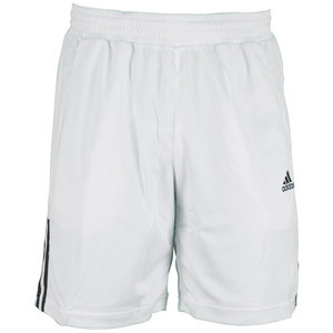 adidas MENS GALAXY 9.5 INCH SHORT WHITE