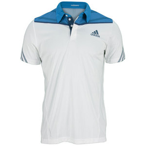 adidas MENS ADIZERO TENNIS POLO WHITE