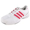 ADIDAS Women`s Response Rally Court Tennis Shoes White and Vivid Berry