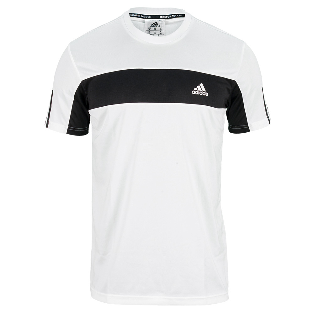 Men`s Galaxy Tennis Tee White and Black