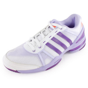 adidas WOMENS RESP CC RALLY COMP SHOES WH/PURP