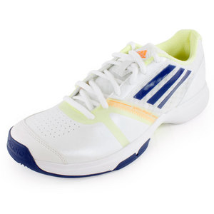 adidas WOMENS GALAXY ALLEGRA SHOES WHITE/NT BLU