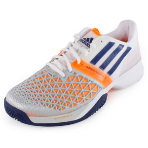 adidas MENS CC ADIZERO FEATHER III SHOES WHITE