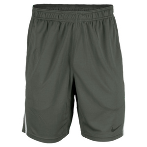 NIKE MENS POWER 9 IN KNIT SHORT DK MICA GREEN