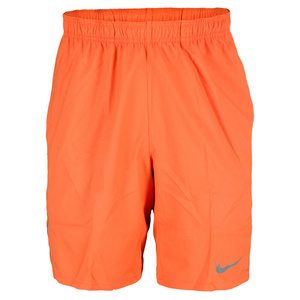 NIKE MENS POWER 9 IN WOVEN SHORT TURF ORANGE