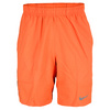 Men`s Power 9 Inch Woven Tennis Short Turf Orange by NIKE