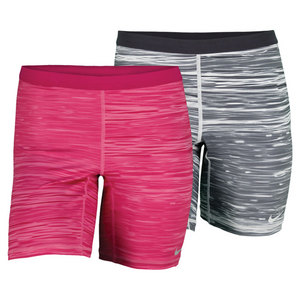 NIKE WOMENS SLAM PRINTED TENNIS SHORT