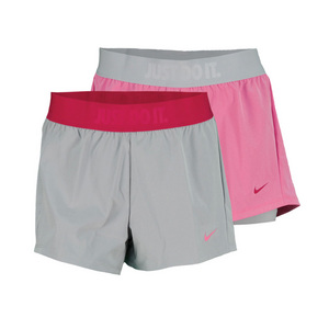 NIKE WOMENS CIRCUIT 2 IN 1 WVN TRAIN SHORT