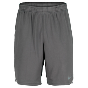 NIKE MENS POWER 9 IN KNIT SHORT DK BASE GRAY