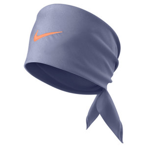NIKE TENNIS SWOOSH BANDANA IRON PURPLE