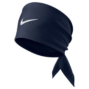 NIKE TENNIS SWOOSH BANDANA MIDNIGHT NAVY