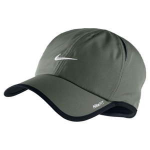 NIKE MENS FEATHERLIGHT CAP DARK MICA GREEN