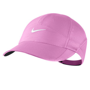 NIKE WOMENS FEATHERLIGHT CAP RED VIOLET