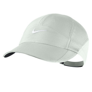 NIKE WOMENS FEATHERLIGHT CAP LT BASE GRAY
