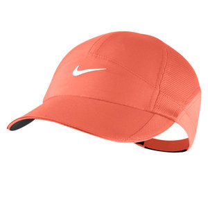 NIKE WOMENS FEATHERLIGHT CAP TURF ORANGE