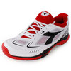 DIADORA Men`s S Pro ME Tennis Shoes White and Black