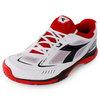 Men`s S Pro ME Tennis Shoes White and Black by DIADORA