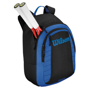 WILSON MATCH TENNIS BACKPACK BLUE AND BLACK