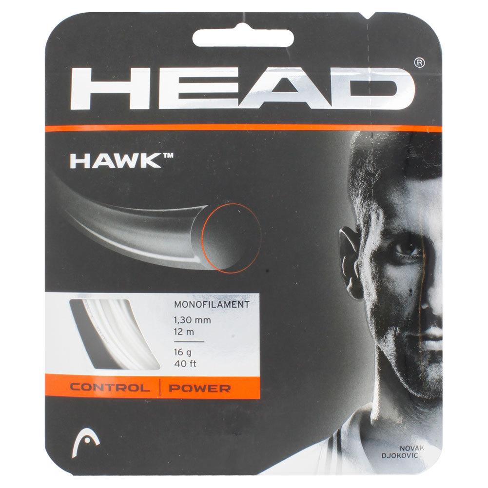 Hawk 16g Tennis String White