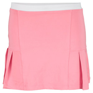 LITTLE MISS TENNIS GIRLS PLEATED TENNIS SKIRT PINK/WHITE