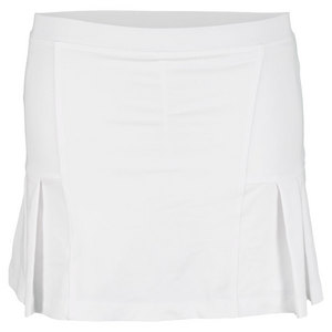 LITTLE MISS TENNIS GIRLS PLEATED TENNIS SKIRT WHITE