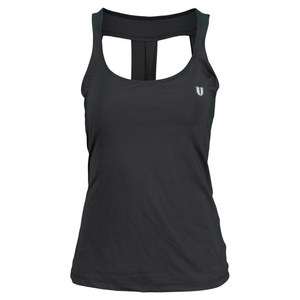 ELEVEN WOMENS HAIL MARY TENNIS STRAP TANK BK