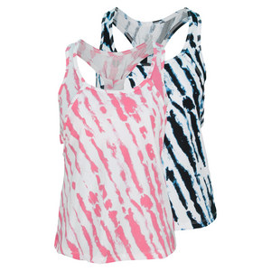 ELEVEN WOMENS DOWN THE LINE RAZOR TENNIS TANK