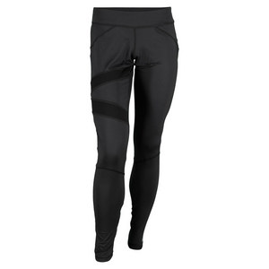 ELEVEN WOMENS POWER TENNIS LEGGINGS BLACK
