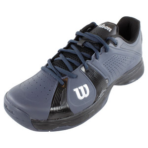 WILSON MENS RUSH SPORT TENNIS SHOES GRAY/BLACK