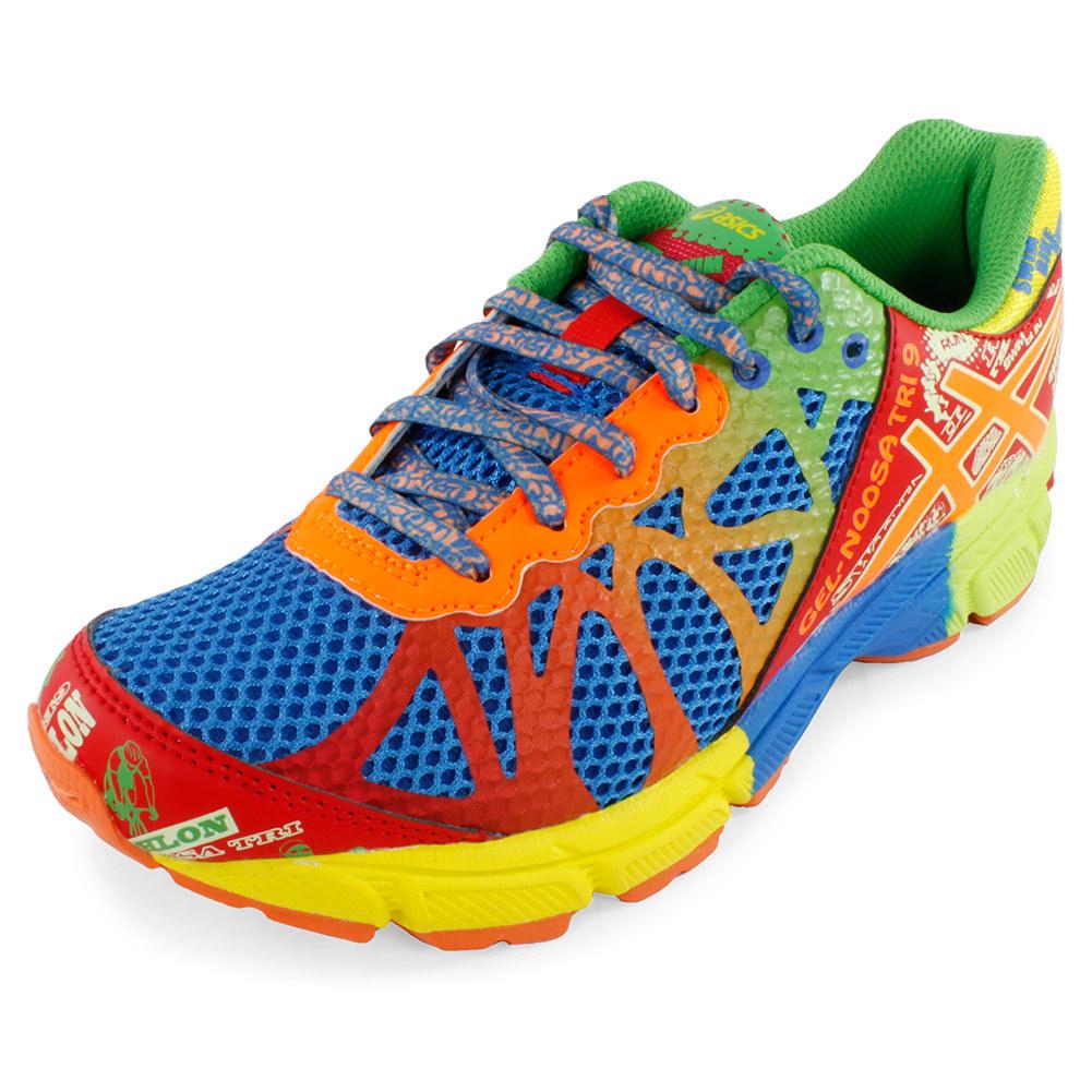 Femmes Asics Gel-noosa Tri 9 - Asics Juniors Gel Noosa Tri 9 Fonctionnement Chaussures Royal Et Flcendre Orange 37067 Ventes