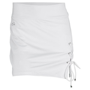 DOUE WOMENS CORD TENNIS SKORT WHITE