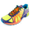 Men`s Gel Noosa Tri 9 Running Shoes Flash Yellow and Neon Purple by ASICS