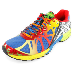 ASICS MENS GEL NOOSA TRI 9 RUN SHOES RYL/RD