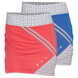 DOUE WOMENS PRINTED TENNIS SKORT