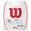 WILSON Spin Duo Hybrid Tennis String