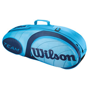 WILSON TEAM 3 PACK TENNIS BAG BLUE