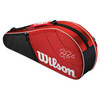 Federer Team 3 Pack Tennis Bag Red by WILSON