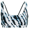 ELEVEN Women`s Reversible Tennis Bra Black and Tie Dye Black