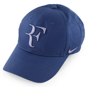 NIKE MENS RF HYBRID TENNIS CAP MIDNIGHT NAVY