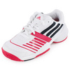 Junior`s Galaxy Elite III Tennis Shoes White and Night Shade by ADIDAS