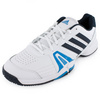 ADIDAS Men`s Bercuda 3 Tennis Shoes White and Night Shade