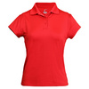 CRUISE CONTROL Women`s Cap Sleeve Tennis Polo Red