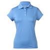 CRUISE CONTROL Women`s Cap Sleeve Tennis Polo Pacific Blue