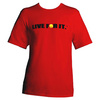 CRUISE CONTROL Men`s Tennis Tee Red