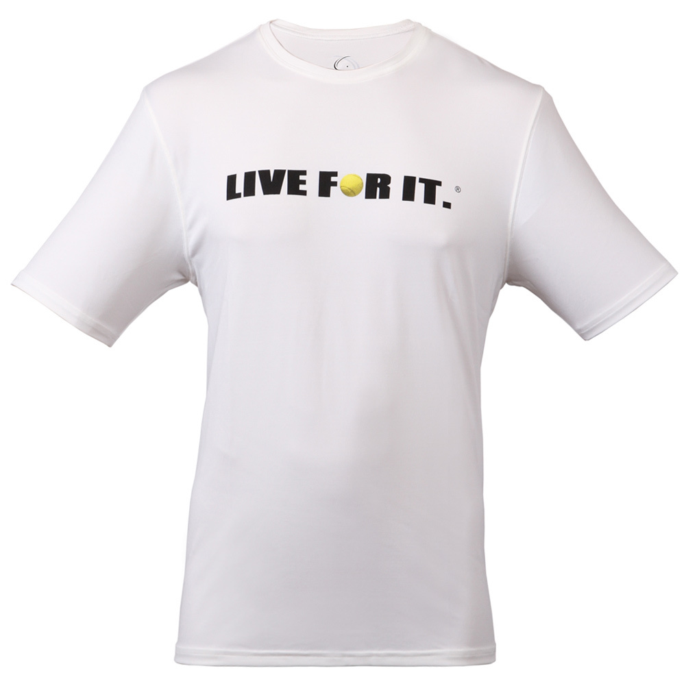 Men's Tennis Tee White